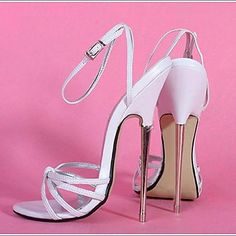 6.3in High Heels Women Pumps Sexy Shoes High Heeled Sandals - USD $ 99.99 These are crazy!