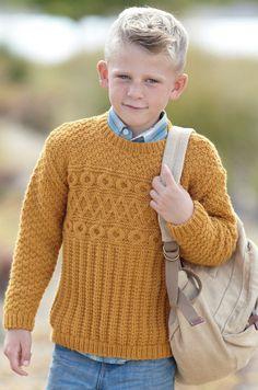 ce66bf17fd00a Sweaters in Sirdar Supersoft Aran - 2433. Knitting SuppliesLittle BoysKnitting  PatternsCardigansPdfToddlersKnit ...