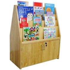A ChildSupply Double Sided Bbook Stand with Storage >>> Click image for more details. (Amazon affiliate link)