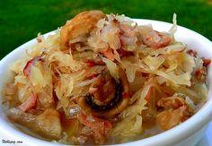 Kapusta (Sauerkraut) Polish cuisine 
