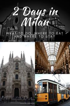 Discover our handy and complete itinerary for 2 days in Milan with the best things to see and do, where to stay and where to eat to save time. #Italy #Milan #travel