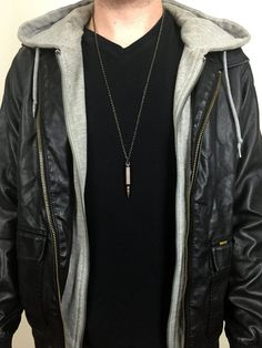 Men's Antique Copper Bullet Necklace!!! $29.99