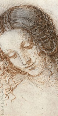 Regilla ⚜ Leonardo da Vinci, The head of Leda                                                                                                                                                                                 More