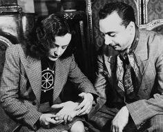 Edith Piaf and Django Reinhardt, 1940s, Paris