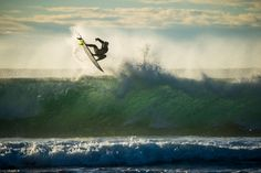 """Kolohe Andino surfing in Jeffrey's Bay, South Africa. - Kolohe Andino surfing in Jeffrey's Bay, South Africa. Ryan Miller / Red Bull Content Pool <a href=""""https://www.redbullphotography.com/editors-choice/1418308540270-808074877"""">Red Bull Photography</a>"""