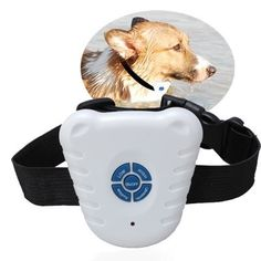 OWIKAR Pet Dog Training Collar, Safe Ultrasonic Dog Pet Stop Barking Anti Bark Training Control Collar No Harm Vibration Reduce Barking Shock Controller Waterproof Pet Trainer *** Visit the image link more details. (This is an affiliate link) Dog Bark Control, Bark Control Collar, Anti Aboiement, Anti Bark Collar, Pet Trainer, Stop Dog Barking, Pet Dogs, Pets, Pet Puppy