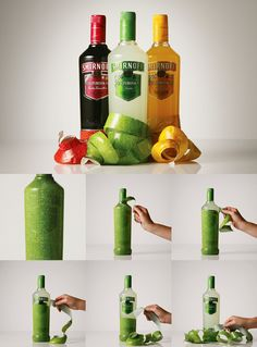 Smirnoff Caipiroska Packaging by JWT. 16 Creative Packaging Examples. #packaging #smirnoff