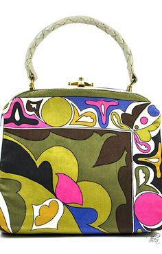 Emilio Pucci ● Vintage Top Handle Bag