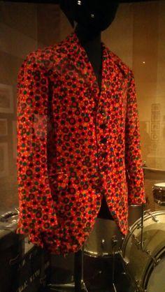 Jimi Hendrix shirt - EMP Museum, Seattle WA