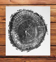 Black Locust Tree Print by LintonArt on Scoutmob Shoppe
