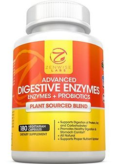 Digestive Enzymes With Prebiotics Probiotics Natural Gluten Free Support For Better Digestion Lactose Absorption For Bloating Gas Relief Helps IBS Leaky Gut 180 Vegan Capsules -- Be sure to check out this awesome product. Healthy Junk, Healthy Tips, Stay Healthy, Healthy Living, Ibs Relief, Pain Relief, Stress Relaxation, Prebiotics And Probiotics, Ibs Diet