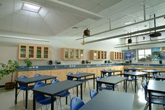 Commercial Designs | Daylighting & LED Lighting Systems | Solatube. Kinard Junior High School - Fort Collins, CO. Solar tube precedent pyramid diffusing ceiling interior.