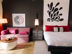 Guestroom at Kimpton Seafire Resort + Spa [The blonde blogs]