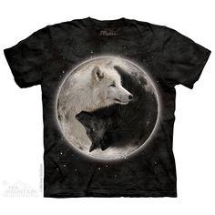 The Mountain - Yin Yang Wolves T-Shirt, $22.00 (http://www.themountain.com/yin-yang-wolves-t-shirt/)