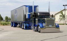 custom, truck, peterbilt