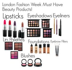 """LFW Must Have Beauty Products!"" by minadinamike on Polyvore featuring beauty and MAC Cosmetics"