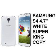 """Samsung S4 4.7"""" inch Super King Copy White Rp 860.000,-   Pin BB : 7D0D1612   Sms : 087782150659"""