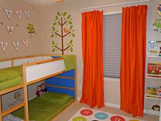 Creating A Fun & Functional Shared Boy & Girl Bedroom | Confessions of a Semi-Domesticated Mama