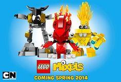 New Lego product. LEGO Mixels Website