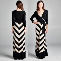 Chevron Wrap Bodice Maxi Dress (em28) How to BUY, comment below with size and color. We'll create a separate listing for you to purchase. Thank you  Product Description: Maxi Dresses - 95%Rayon 5% Spandex Made in USA  Fit: S (4-6) M (8-10) L (12-14)  Shipping: Ships within 4-7 business days.  Terms: Final sale. 10% off bundles. No trades. No holds. We offer our lowest and best prices upfront. Just Modest Dresses Maxi