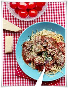 Italian meatballs - At home with Sofia