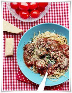 Italian meatballs - At home with Sofia