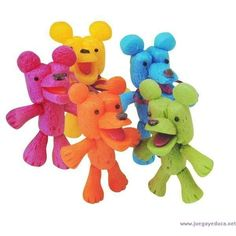Playmais Teddybären