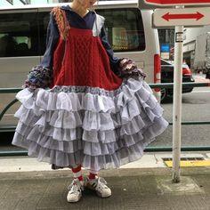 Quirky Fashion, Colorful Fashion, 90s Fashion, Runway Fashion, Fashion Outfits, Japan Fashion, Harajuku Fashion, Aesthetic Clothes, Types Of Fashion Styles