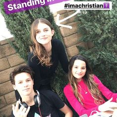 """Remember """"leave room for Jesus""""? - @annieleblanc @haydensummerall #hannie"""