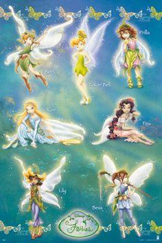 names fairy Tinker bell