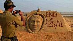 Hanging of 26/11 culprit Kasab finds a place in his art. http://www.talizma.com/his-artwork-has-impressed-the-world-and-made-india-proud-meet-sudarsan-pattnaik-and-see-some-of-his-finest-creations/