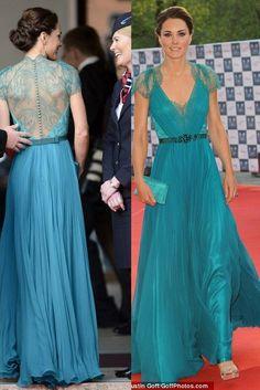 Turquoise Kate Middleton