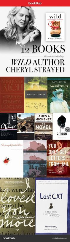 Wild author Cheryl Strayed recommends a wide range of reads, including Faulkner, Michener, and Joyce.