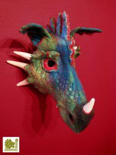Drachenmaske, Stefanie Buss