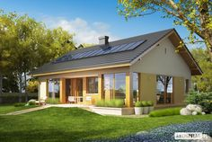 two bedroom single story house plans modern architecture best one storey lrg Two Bedroom House, Compact House, Rural House, Open Space Living, Modern Architecture House, Story House, House Roof, Small House Plans, Cottage Homes
