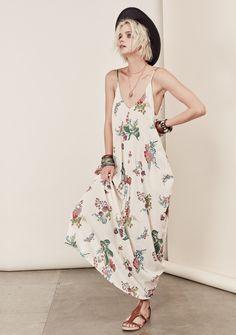 Catalina Mila Maxi #dress-with-pockets #lace #large #maxi-dress #medium #medium-large #midnight #mila-maxi #natural #pockets #small-medium #spaghetti-strap #vintage-floral #white