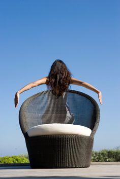 Kingston Sunchair. Designed by Foersom & Hiort-Lorenzen MDD.