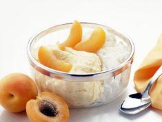 Házi sárgabarackfagyi Recept képpel - Mindmegette.hu - Receptek Flan, Bacon, Lime, Pudding, Sugar, Fruit, Creme Brulee, Limes, Custard Pudding