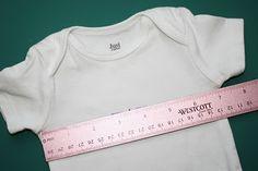 Best Onesie/t-shirt Machine Applique Tutorial I have seen yet