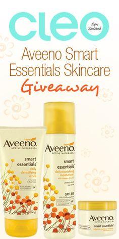 #Aveeno Smart Essentials #Skincare #Giveaway #Win #RePin