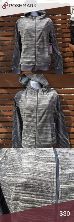 """Juicy Couture Super Soft Hoodie Jacket Size XS NEW New with tags. Super soft. 77% cotton. 23% polyester. Measures: pit to pit: 19"""". Be sure to view the other items in our closet. We offer both women's and Mens items in a variety of sizes. Bundle and save!! Thank you for viewing our item!! Juicy Couture Jackets & Coats"""