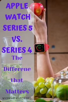 To explain what has changed, here in this article we've identified and brought down the difference that matters while comparing Apple Watch Series 5 with its previous-gen Series 4 smartwatch. Apple Launch, Best Fitness Tracker, Series 4, Apple Watch Series, Smartwatch, Fitbit, Hiking, Swimming, Watches