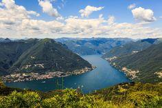 #Como, vuoristojärven lumoissa. #Aurinkomatkat