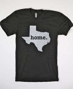 The Texas Home TShirt by TheHomeT on Etsy, $25.00