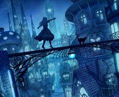 alice   blue   cat   steampunk