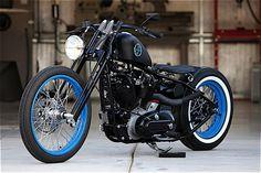 1973 Custom Harley-Davidson Ironhead Sportster.    http://jbsporty.com/