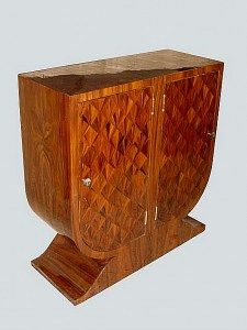 UNIQUE Rosewood Art Deco Console