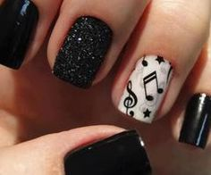Variety Show Nails  Musical Nail Art