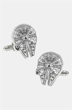 Cufflinks, Inc. 'Star Wars™ - Millennium Falcon Blueprint' Cuff Links | Nordstrom