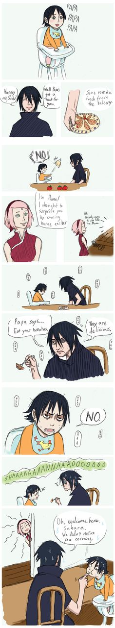 This is so funny  Tomatoes by KonanxPein4ever.deviantart.com on @DeviantArt
